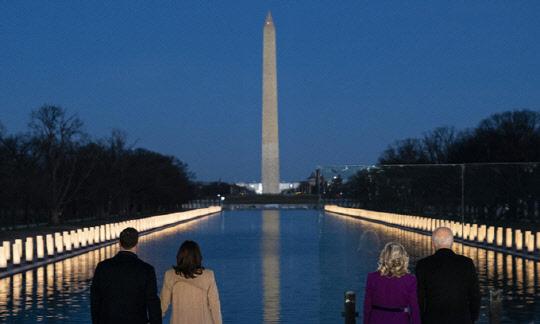 바이든, 취임 하루 앞두고 워싱턴 입성…60년 터전 델라웨어 떠나며 눈물